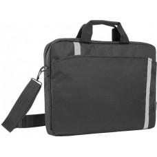 Сумка для ноутбука DEFENDER Shiny 15''-16'' черный. светоотражающая полоса 26097