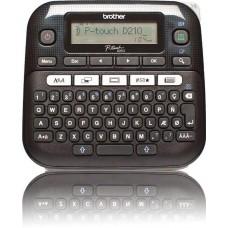 Принтер Brother P-touch PT-D210 стационарный черный PTD210R1