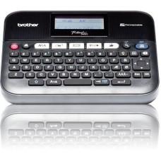 Принтер для наклеек Brother P-Touch PT-D450VP (ленты TZe 3,5/6/9/12/18 мм, 20 мм/с, 180т/д, автообрез., печать ШК, USB 2.0, БП, USB-кабель, кейс, ПО, лента 18мм/4м)