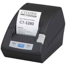 Принтер POS Citizen CT-S280. черный. USB CTS280UBEBK