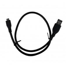 Дата-кабель USB Cablexpert CCP-mUSB2-AMBM-0.5M. черный USB-microUSB (0.5 м)