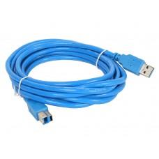 Кабель соединительный USB AMBM 3.0V. синий (1.8 м) AOPEN ACU301