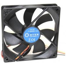 Вентилятор 120 mm | 5Bites (f12025s-hdd). 1200rpm. 25dba. 4 pin. подшипник скольжения (oem) F12025S-HDD