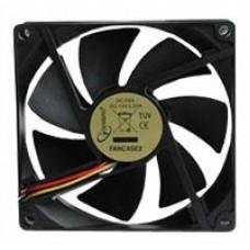 Вентилятор Gembird FANCASE2-OEM для СБ. 90*90*25. 3pin FANCASE2