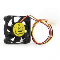Вентилятор Gembird Вентилятор 40x40x10, шнур 25см, 3pin D40SM-12A-25