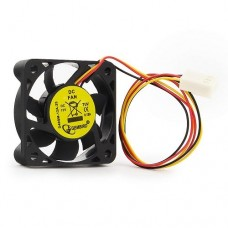 Вентилятор 40 mm. Gembird d40sm-12a-25. 5000rpm. 27dba. 3 pin. h=10mm. втулка. длинна провода 25 см (oem) D40SM-12A-25