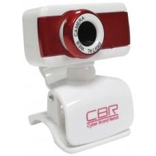 Камера интернет Cbr cw-832m red. универс. крепление. 4 линзы. 1.3 мп. эффекты. микрофон. CW 832M Red