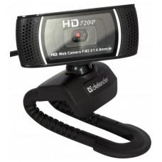 Веб-Камера Defender g-lens 2597. 2mpx. hd720p. автофокус. слежение за лицом 63197