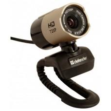 Камера интернет Defender g-lens 2577 hd720p 2мп. 5сл. стекл.линза 63177