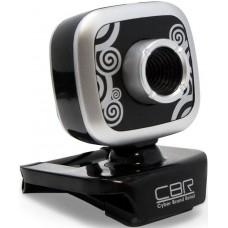 Интернет-Камера Cbr cw-835m silver универс. крепление. 4 линзы. эффекты. микрофон CW 835M Silver
