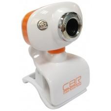 Вебкамера CBR CW833M Silver. универс. крепление. 4 линзы. эффекты. микрофон CW 833M Silver