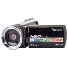 Видеокамера Rekam dvc-340 черный is el 2.7'' 1080p sd+mmc flash/flash 2504000001