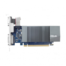 Видеокарта  ASUS NVIDIA GeForce GT 710, 1Gb GDDR5/32-bit, PCI-Ex16 3.0, 1xD-Sub, 1xDVI-D, 1xHDMI, LP, 1-slot cooler, VGA Retail