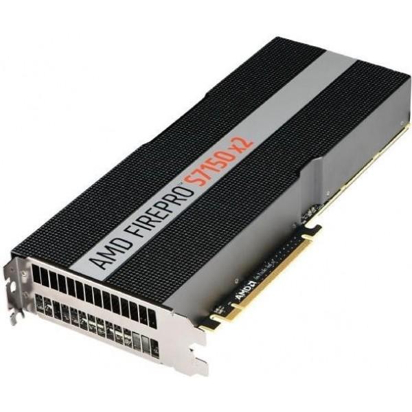 Видеокарта Sapphire FirePro S7150x2 16GB GDDR5, PCIe 3.0 Standard Airflow Brown Box 100-505722