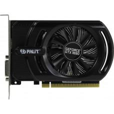Видеокарта Palit PCI-E PA-GTX1650 STORMX OC 4G D6 NVIDIA GeForce GTX 1650 4096Mb 128bit GDDR6 1410/6000 DVIx1/HDMIx1/DPx1/HDCP Ret