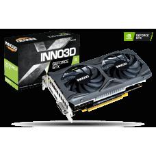 Inno3D GeForce GTX 1650 D6 Twin X2 OC V2 1410Mhz PCI-E 3.0 4096Mb 12000Mhz 128 bit HDMI DP DVI-D N16502-04D6X-1720VA30