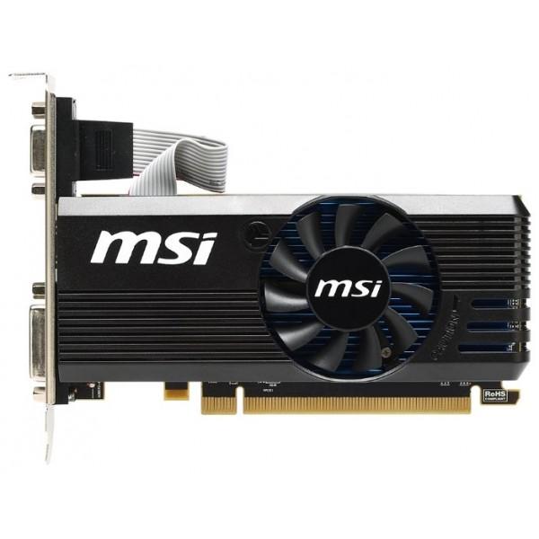 Видеокарта MSI R7 240 2GD3 64b LP AMD Radeon R7 240 2048Mb 64bit DDR3 600/1600 PCI-E DVIx1/HDMIx1/CRTx1/ HDCP Ret low profile R72402GD364BLP