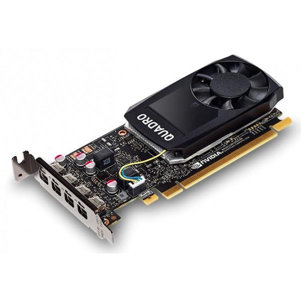 Видеокарта Dell  nVidia Quadro P1000 4096Mb 128bit DDR5/mDPx4 490-BDXO oem low profile