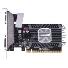 Видеокарта INNO3D 1Gb PCI-E GT730 c CUDA GFGT730. GDDR3. 64 bit. HDCP. DVI. HDMI. Retail N730-1SDV-D3BX
