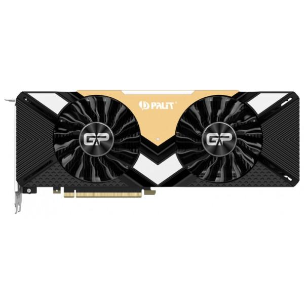 Видеокарта Palit GeForce RTX 2080 Ti GamingPro OC. 11GB GDDR6. HDMI. 3x DP. USB-C (NE6208TS20LC-150A) NE6208TS20LC-150A