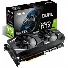 Видеокарта ASUS Dual GeForce RTX 2070 Advanced. DUAL-RTX2070-A8G. 8GB GDDR6. HDMI. 3x DP. USB-C (90YV0C85-M0NA00) DUAL-RTX2070-A8G