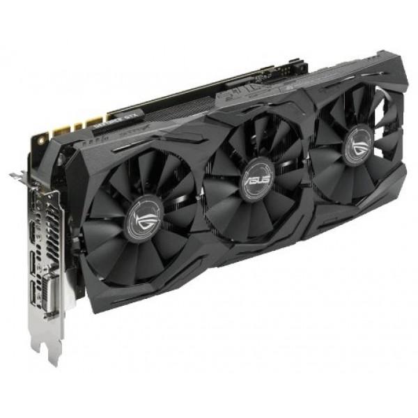 Видеокарта ASUS ROG Strix GeForce RTX 2080 Ti. ROG-STRIX-RTX2080TI-11G-GAMING. 11GB GDDR6. 2x HDMI. 2x DP. USB-C ROG-STRIX-RTX2080TI-11G-GAMING
