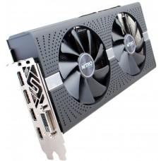 Видеокарта БУ 04096Mb RX580 SAPPHIRE NITRO+ 11265-07-20G (31.5 Хэшей) [RX 580 4G AMD Radeon RX 580 4096Mb 256bit GDDR5 1411.7000 DVIx1.HDMIx2.DPx2.HDCP Ret]