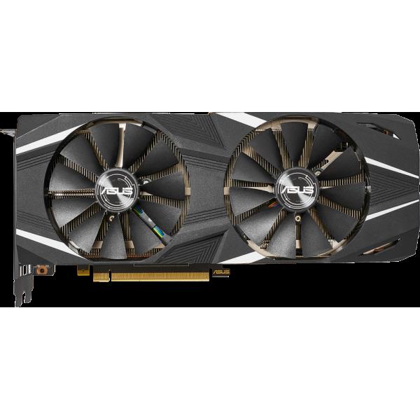 Видеокарта ASUS Dual GeForce RTX 2080 Ti. DUAL-RTX2080TI-11G. 11GB GDDR6. HDMI. 3x DP. USB-C DUAL-RTX2080TI-11G