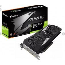GigaByte GeForce GTX 1660 Ti AORUS 1890Mhz PCI-E 3.0 6144Mb 12000Mhz 192 bit HDMI 3xDP GV-N166TAORUS-6GD GV-N166TAORUS-6GD