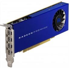 Видеокарта Dell Radeon Pro WX 4100 4096Mb 256bit DDR5/DPx2 oem 490-BDVO