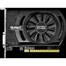 Palit GeForce GTX 1650 StormX OC 1485Mhz PCI-E 3.0 4096Mb 8000Mhz 128 bit DVI HDMI NE51650S06G1-1170F