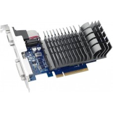Видеокарта Asus PCI-E GT 710-2-SL nVidia GeForce GT 710 2048Mb 64bit DDR3 954/1800 DVIx1/HDMIx1/CRTx1/HDCP Ret low profile 710-2-SL