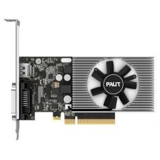 Видеокарта Palit PCI-E PA-GT1030 2GD4 nVidia GeForce GT 1030 2048Mb 64bit DDR4 1151/2100 DVIx1/HDMIx1/HDCP Ret low profile NEC103000646-1082F