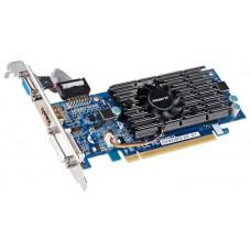 GigaByte GeForce GT 210 590Mhz PCI-E 2.0 1024Mb 1200Mhz 64 bit DVI HDMI HDCP GV-N210D3-1GI