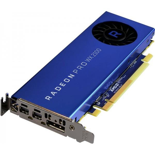 Видеокарта AMD RADEON PRO WX 2100 - 2GB GDDR5 2-MDP / 1-DP PCIE 3.0 100-506001
