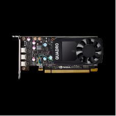 Видеокарта PNY NVIDIA Quadro P400, 2 GB GDDR5/64-bit, , 3×mDP 1.4, 30 W, 1-slot cooler,PCI Express 3.0 x16, VCQP400-SBblk