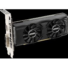Видеокарта MSI GeForce GTX 1650 4GT LP OC, 4GB GDDR5, DVI, HDMI