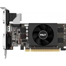 Видеокарта Palit PCI-E PA-GT710-1GD5 nVidia GeForce GT 710 1024Mb 64bit GDDR5 954/2500 DVIx1/HDMIx1/CRTx1/HDCP Bulk low profile NE5T7100HD06-2081F