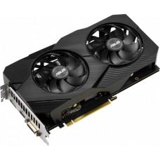 Видеокарта Asus  DUAL-GTX1660S-A6G-EVO nVidia GeForce GTX 1660SUPER 6144Mb 192bit GDDR6 1530/14002 DVIx1/HDMIx1/DPx1/HDCP PCI-E Ret
