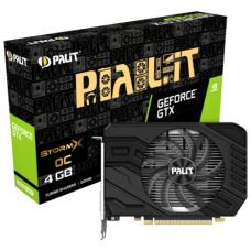 Palit GeForce GTX 1650 Super StormX OC 1530Mhz PCI-E 3.0 4096Mb 12000Mhz 128 bit DVI HDMI NE6165SS18G1-166F