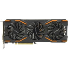 Видеокарта БУ NVIDIA 08192Mb GTX 1080 Gigabyte GV-N1080WF3OC-8GD [3 вентилятора PCI-E 8192Mb]