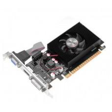Видеокарта AFOX Nvidia Geforce GT610 2GB DDR3 64Bit DVI HDMI VGA LP Single Fan PCI-E 16x AF610-2048D3L7-V5 AF610-2048D3L7-V5