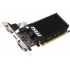 MSI GeForce GT 710 954Mhz PCI-E 2.0 1024Mb 1600Mhz 64 bit DVI HDMI HDCP Low Profile GT 710 1GD3H LP