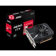MSI Radeon RX 560 1196Mhz PCI-E 3.0 4096Mb 7000Mhz 128 bit DVI HDMI HDCP RX 560 AERO ITX 4G OC RX 560 AERO ITX 4G OC