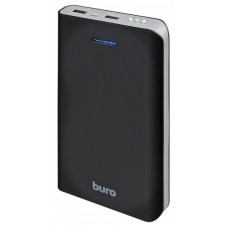 Мобильный аккумулятор Buro RA-25000 Li-Ion 25000mAh 2.1A+1A черный/темно-серый 2xUSB RA-25000