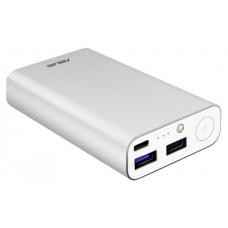 Аккумулятор Asus ZenPower type C серебристый (10050mAh. 5V/2.0А micro USB. 5V/2.4А USB. 5V/2.4А USB C. 90AC02V0-BBT008) 90AC02V0-BBT008