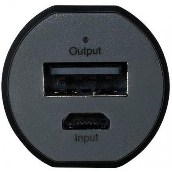 Мобильный аккумулятор Gp portable Powerbank FN03M li-ion 3000mah 1.2a черный 1xusb GPFN03MBE-2CRB1
