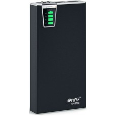Мобильный аккумулятор Hiper mp15000 li-ion 15000mah 2.1a+1a черный 2xusb MP15000 BLACK