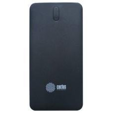 Мобильный аккумулятор Cactus CS-PBAS282 Li-Pol 5000mAh 1A+2.1A черный/темно-серый 2xUSB