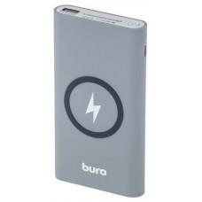 Мобильный аккумулятор Buro HG8000-WCH Li-Pol 8000mAh 1.2A серый/белый 3xUSB